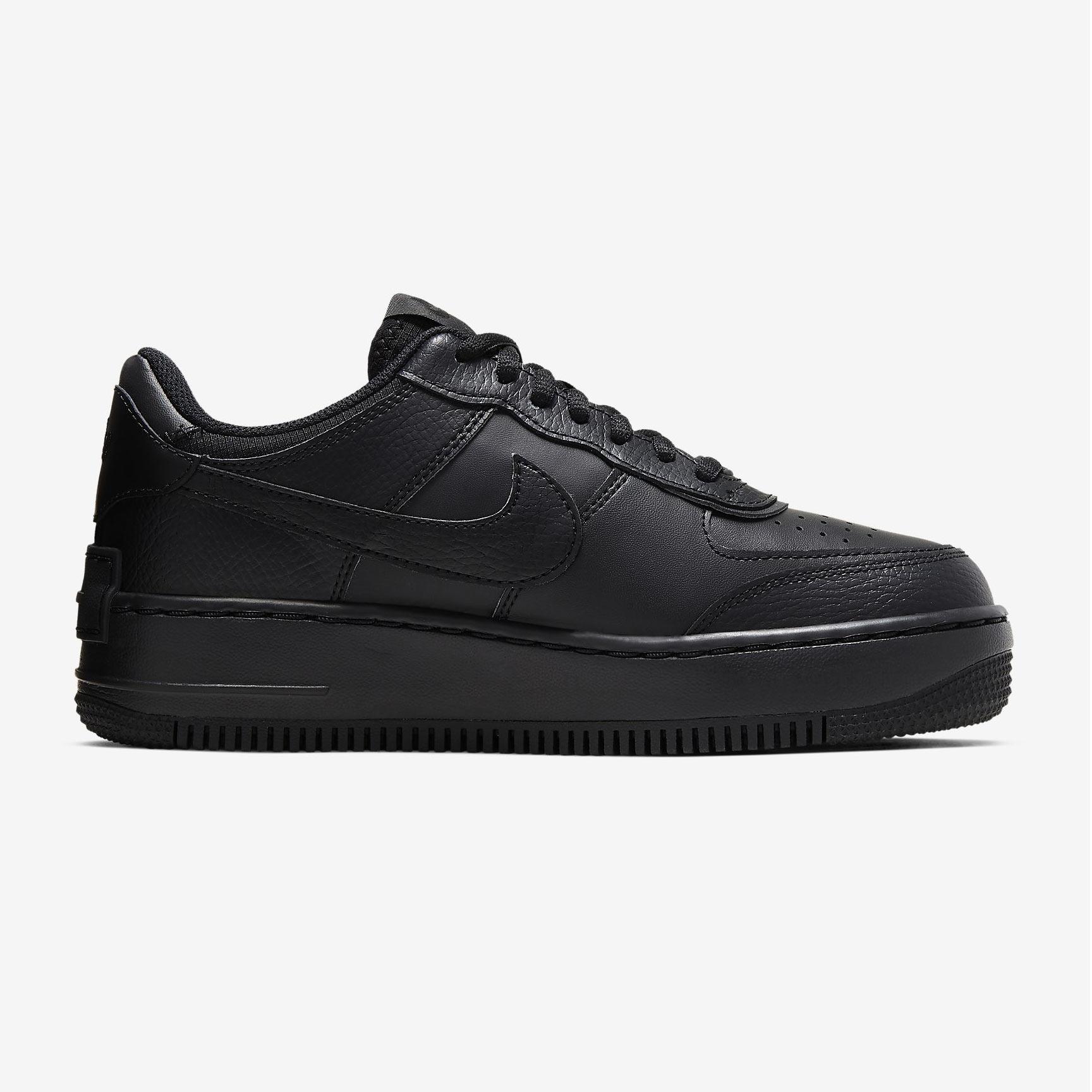 Nike W Air Force 1 Shadow black