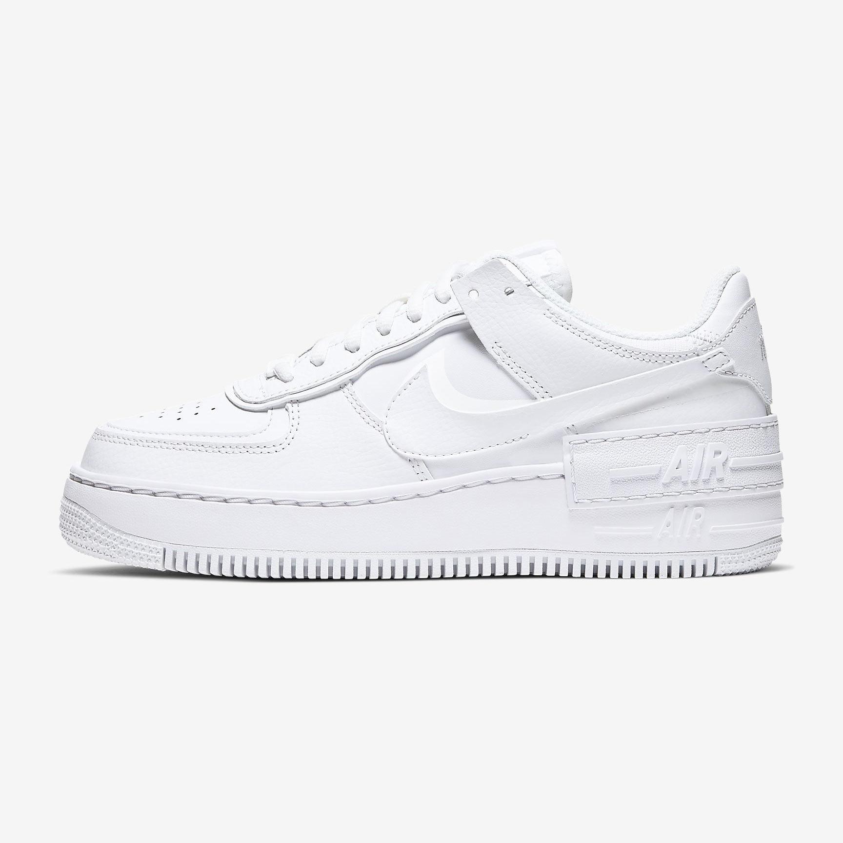 Nike W Air Force 1 Shadow white