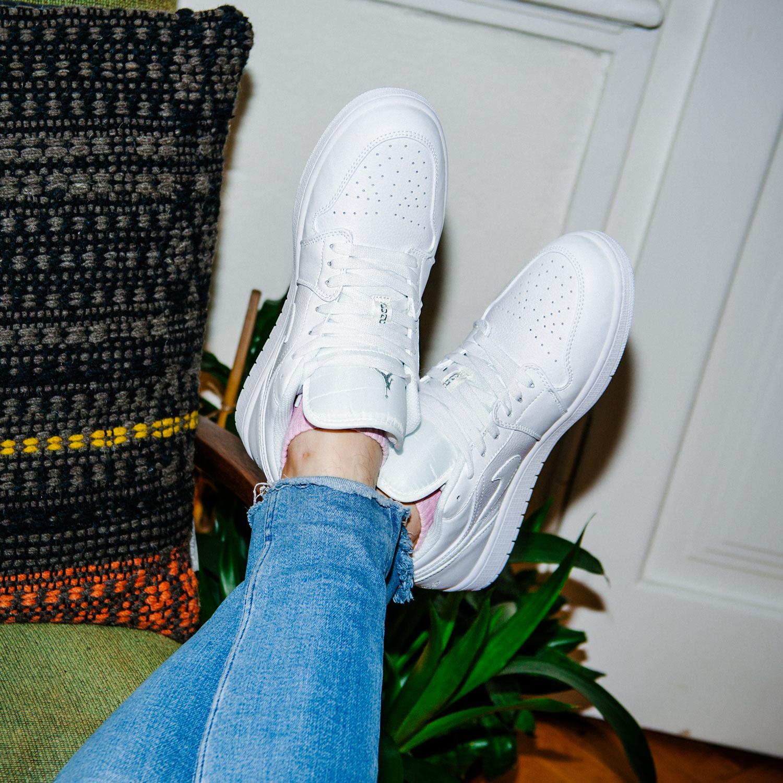 Nike Air Jordan 1 Low white/white